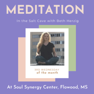 Beginner Meditation in the Salt Cave with Beth @ Soul Synergy Center