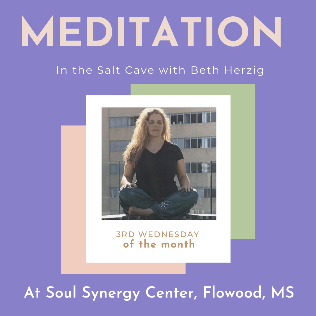 You are currently viewing Beginner Meditation in the Salt Cave with Beth